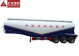 PTO Driven Bulk Tanker Trailer V Shape 38cbm Payload  Easy Maintenance