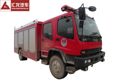 A Type Foam Fire Rescue Vehicles Isuzu Superior Structure Strong Firefighting Ability